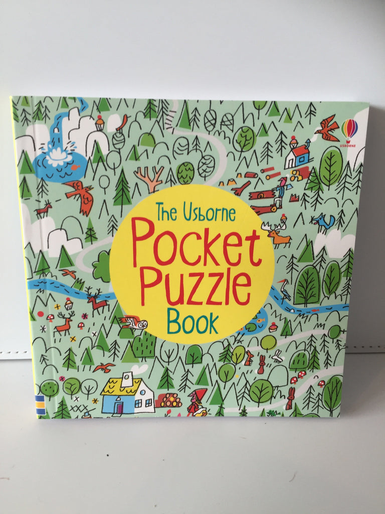 The Usborne Pocket Puzzle Book