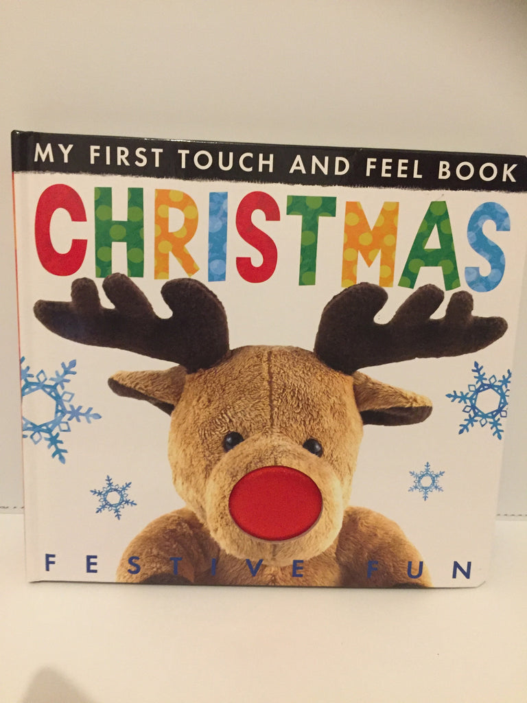 My First Touch and Feel Book : Christmas (Hardcover)