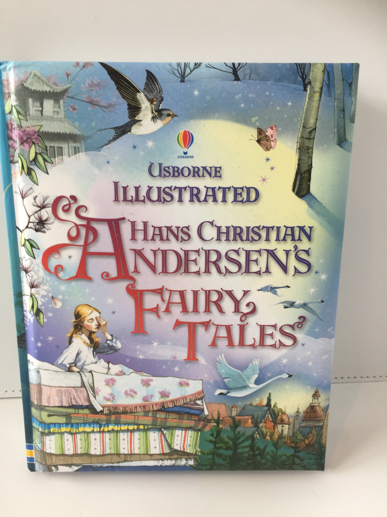 Usborne Illustrated Hans Christian Andersens Fairy Tales (Hardcover)