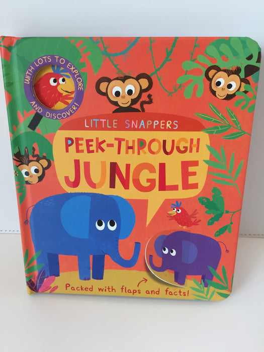 Peek-Through Jungle (Lift-the-Flap)