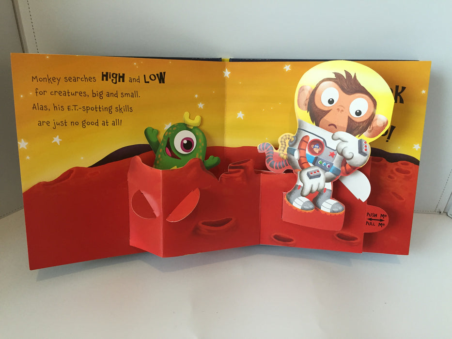 Monkey on the Moon (Planet Pop UP - Hardcover)