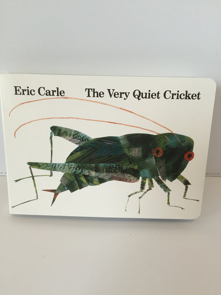 The Very Quiet Cricket (Board Book with Sound)