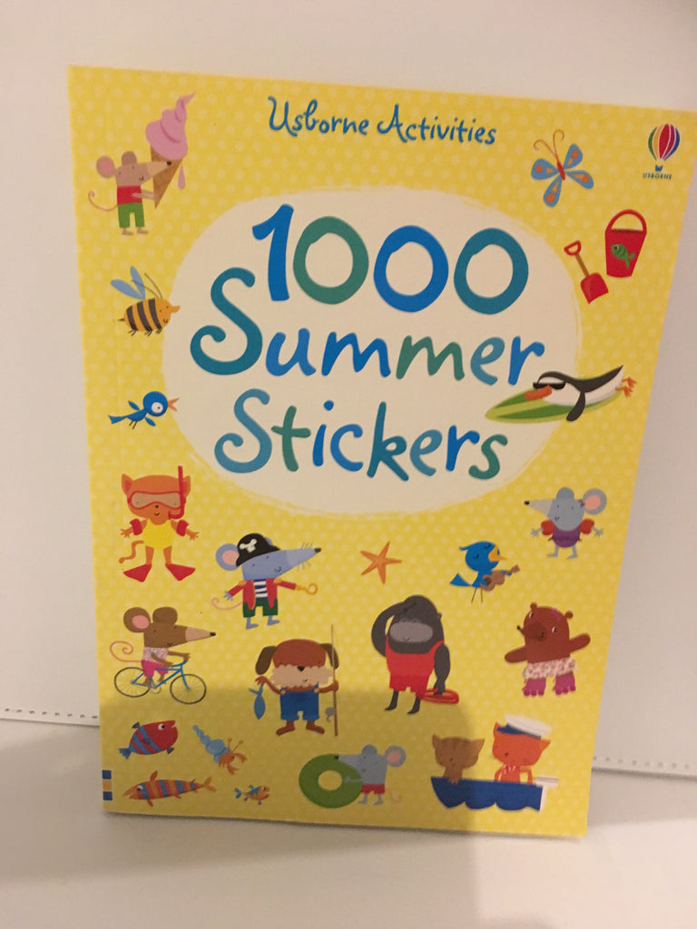 1000 Summer Stickers (Usborne Activities)