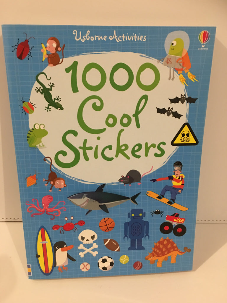 1000 Cool Stickers (Usborne Activities)