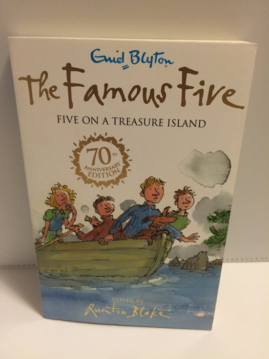 The Famous Five : Five on a Treasure Island