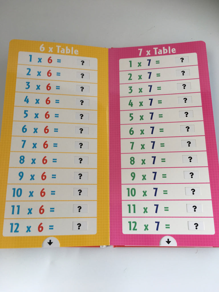 Times Table : A Pull the Tab Book