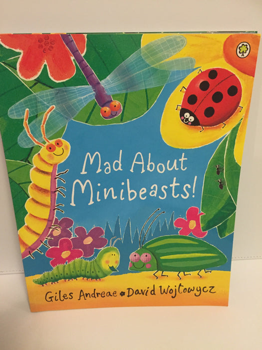 Mad About Minibeasts (Paperback)