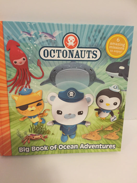 Octonauts : Big Book of Ocean Adventures (6 stories in 1)