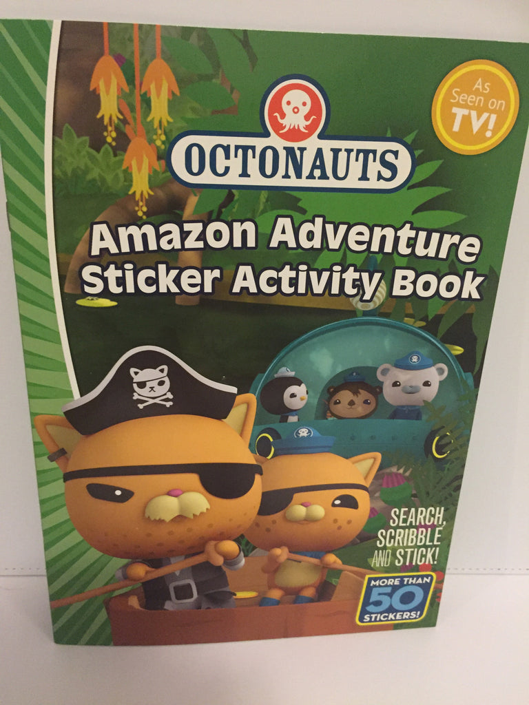 Octonauts : Amazon Adventure Sticker Activity Book