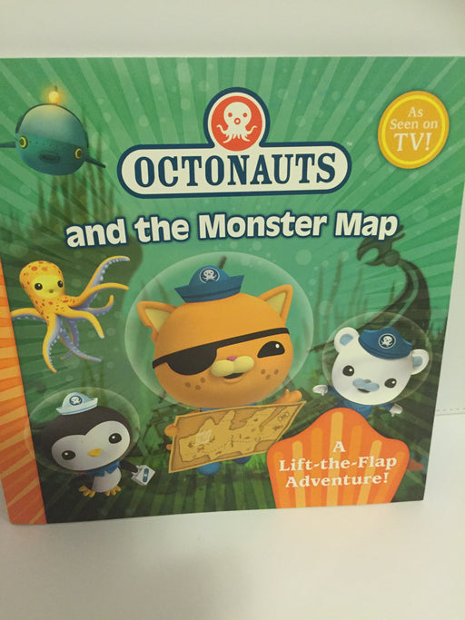 Octonauts and the Monster Map : A Lift the Flap Adventure