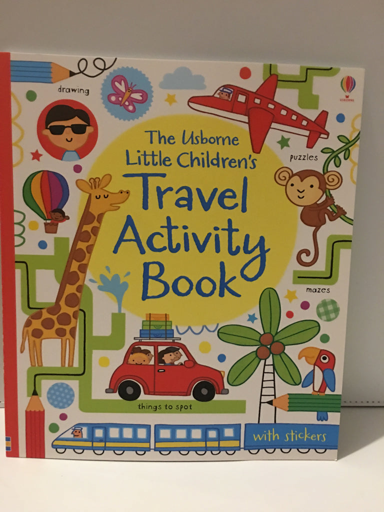 The Usborne Little Childrens Travel Activity Book