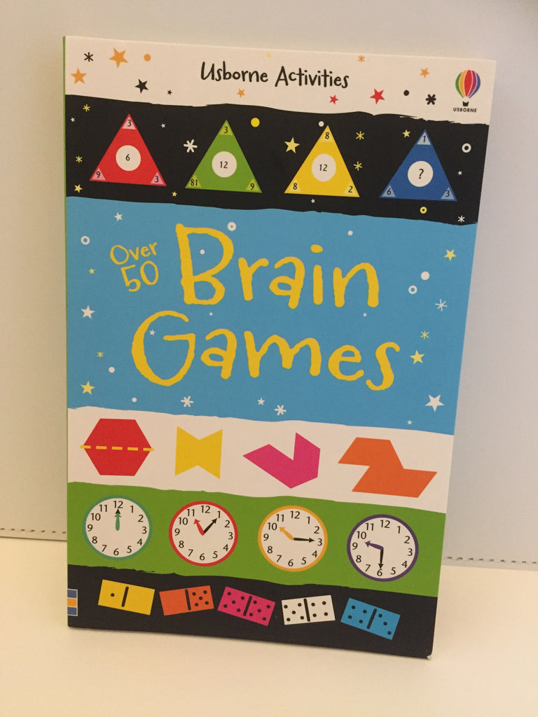 Usborne Activities : Over 50 Brain Games