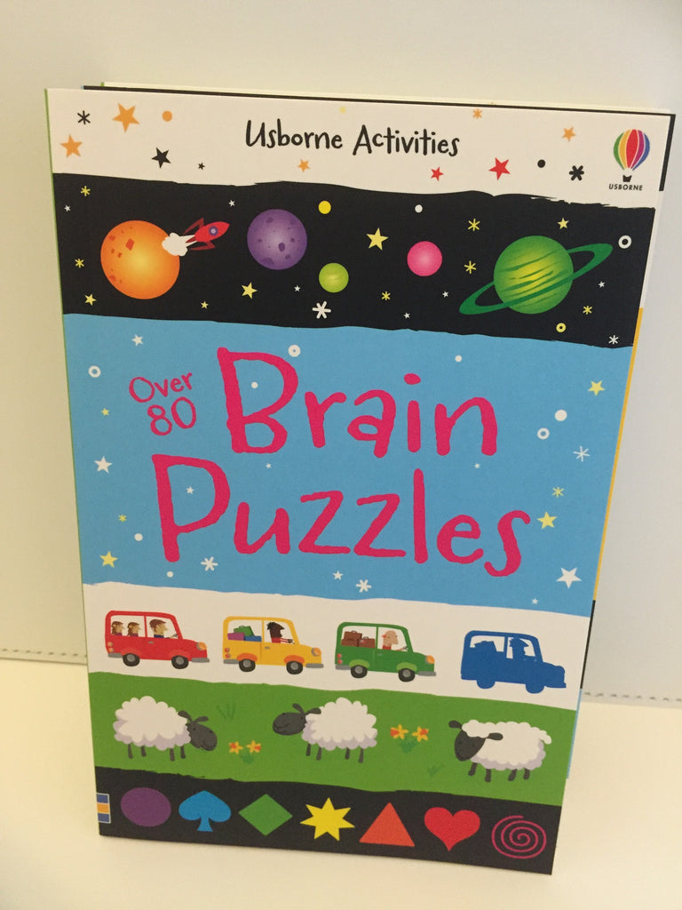 Usborne Activities : Over 80 Brain Puzzles