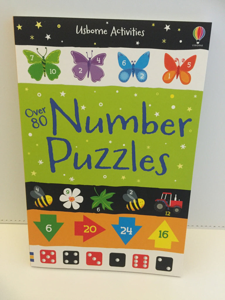 Usborne Activities : Over 80 Number Puzzles