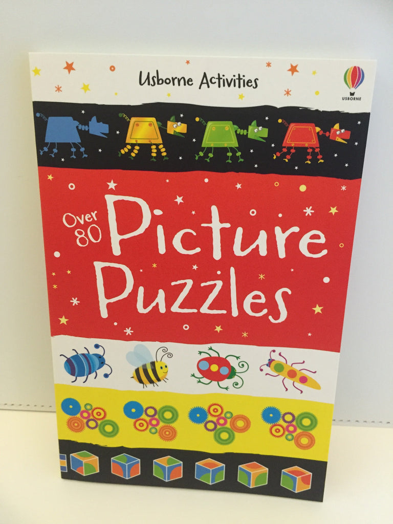Usborne Activities : Over 80 Picture Puzzles