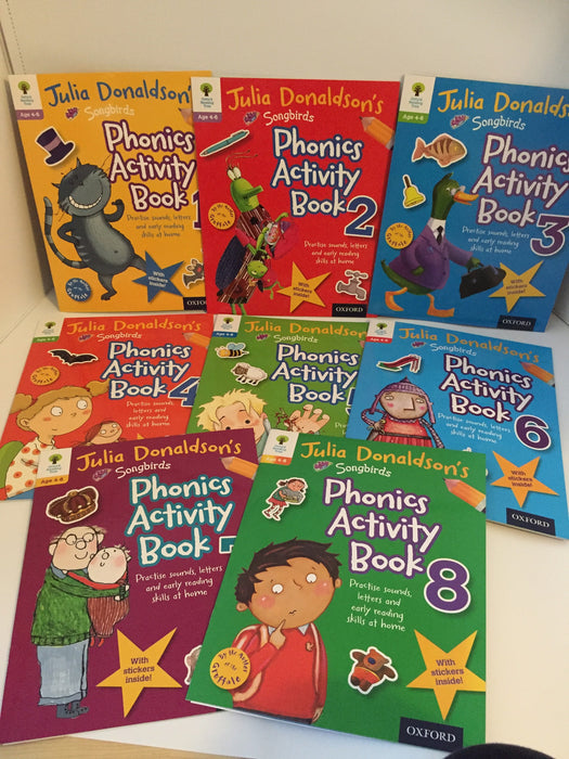 Oxford Reading Tree Julia Donaldson's Phonics Activity Books