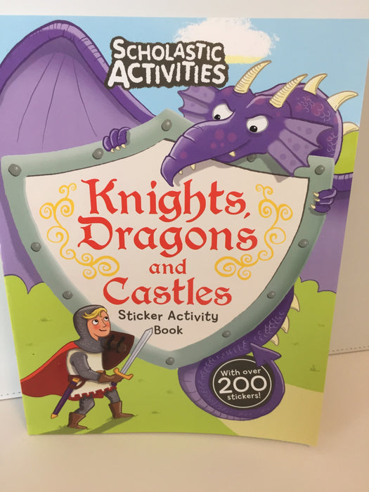 Knights, Dragons and Castles Sticker Activity Book (Scholastic)