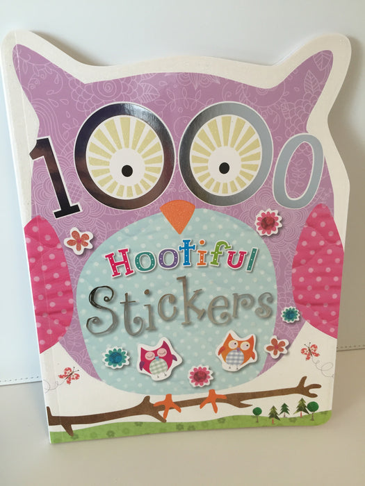 1000 Hootiful Stickers
