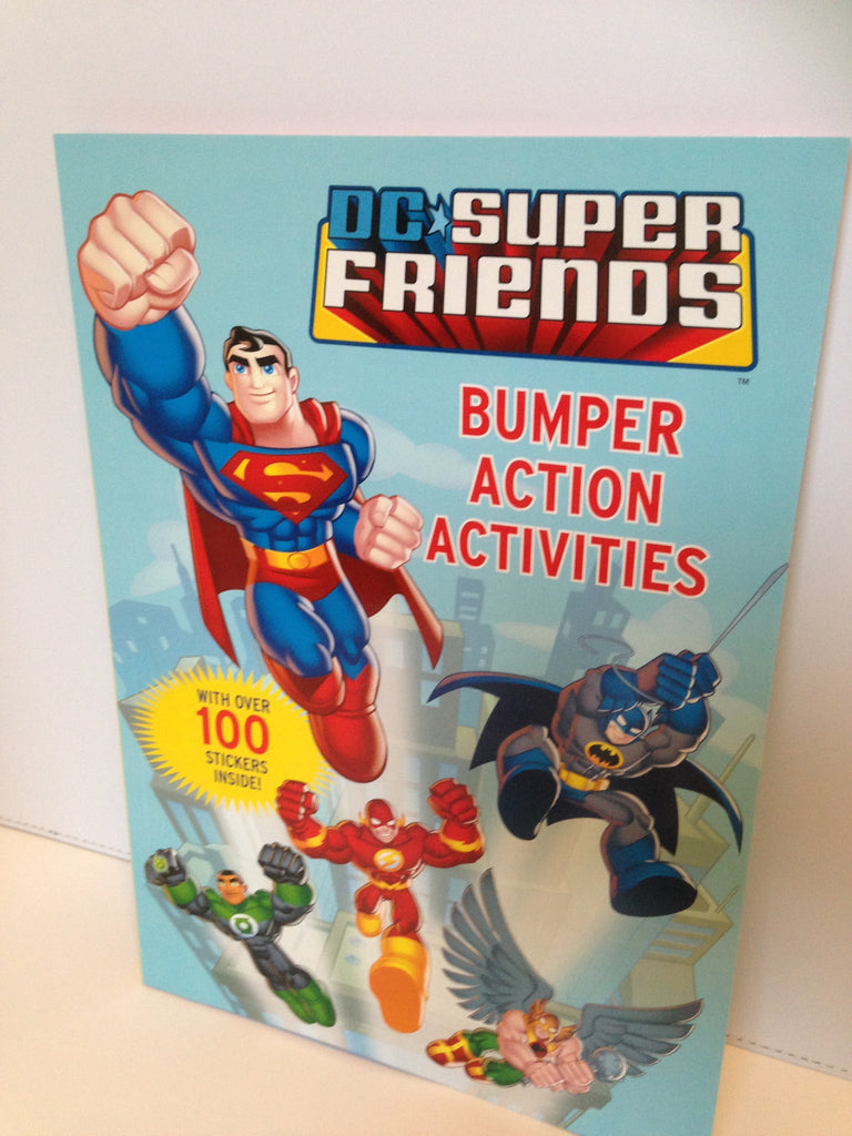 DC Super Friends Activity Book