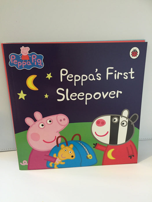 Peppa's First Sleepover (Paperback)