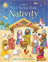 First Sticker Book : Nativity