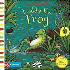Freddy the Frog : A Push, Pull, Slide Book