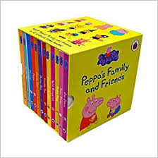 Peppa's Family and Friends Collection (Set of 12 Books)