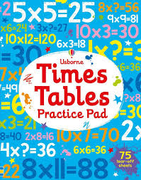 Times Table Practice Pad