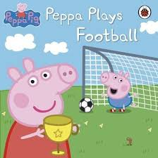 Peppa Plays Football (Paperback)