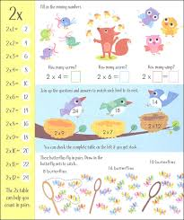 Usborne Times Tables Activity Book
