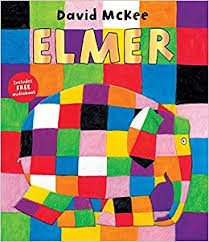 Elmer the Patchwork Elephant (Board Book)