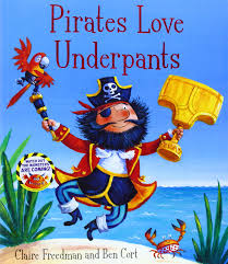 Pirates Love DInopants (Paperback)