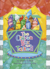 The Crayon Box That Talked (Hardback)