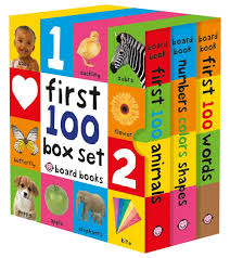 First 100 Board Book Box Set