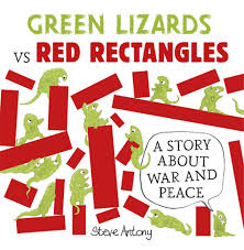 Green Lizards and Red Rectangles
