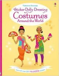 Sticker Dolly Dressing : Costumes Around the World