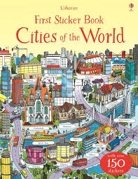 Usborne First Sticker Book : Cities of the World