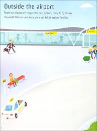 Usborne First Sticker Book : Airport