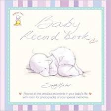 Humphrey Baby Record Book