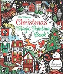 Usborne Christmas Magic Painting Book