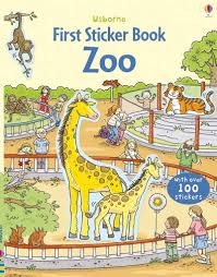 Usborne First Sticker Book : Zoo