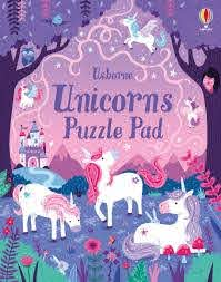 Unicorn Puzzle Pad (Tear Off Pads)