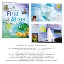 Usborne's First Atlas (Hardback)