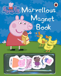 Peppa Pig : Marvellous Magnet Book