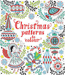 Christmas Patterns to Colour
