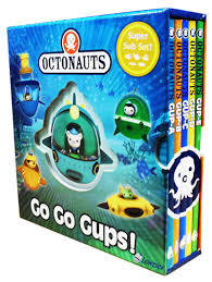Octonauts : Go Go Gups (Set of 5 mini board books)