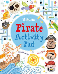 Usborne Pirate Activity Pad (Tear Off Pads)