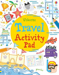 Usborne Travel Activity Pad (Tear Off Pads)