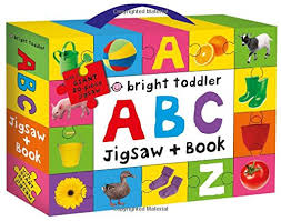 Bright Toddler : ABC Jigsaw and Book Set