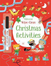 Wipe Clean Christmas Activities (Usborne)